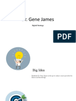 Dr Gene James Digital Strategy