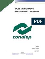 Manual de Administración Virtualización CITRIX