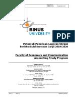 Semester Ganjil 2019-Bol-petunjuk Penulisan Skripsi Jurusan Akuntansi