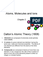 Chapter 2 Atoms Ions