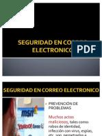 SEGURIDAD EN CORREO ELECTRONICO