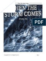 When the Storm Comes