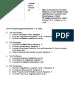 FORMAT LAPORAN POSKO DESA (1)