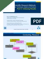 ScientificMethod Part V HCMUT-HCMUNS v2