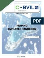 SJC-BVIL Filipino DG Employee Handbook. Rev01Jan2021
