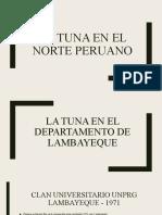 LA TUNA EN EL NORTE PERUANO