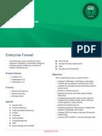 Enterprise Firewall 6.4 Course Description-Online