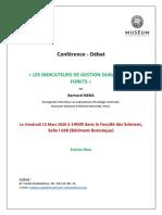 Conférence RIERA 13-03-2020
