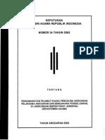 KMA-34-2005-pejabat pembuat komitmen