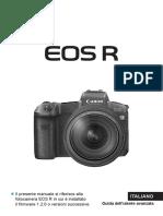 EOS R Advanced User Guide IT