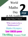 World Maths Day 2