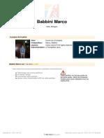 Babbino marco