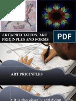 ART APRECIATION ART PRICINPLES AND FORMS