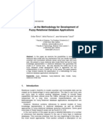 2011 - Towards the Methodology for Development of Fuzzy Relational Database Applications