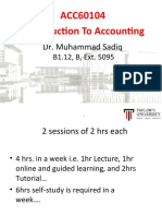Lec1 - Introduction to Accounting