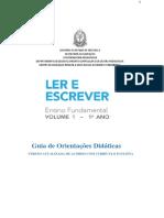 PORTUGUES - 1° ANO - CADERNO DO PROF