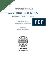 Programación Natural Sciences 3 - Module 3 Unit 6