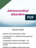 Adrenocortical disorders