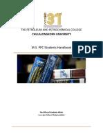 2019 Revised 2 M.S. Handbook