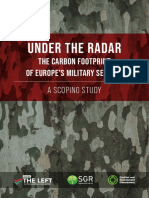 EU Military Sectors Carbon Footprint