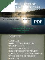 Thermal Energy Harvesting