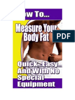 Body Fat Calc Manual