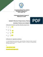 Practica 2 de Matematica Financiera