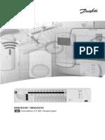 088U0240 _ 088U0245. Instruktion CF-MC-Hauptregler