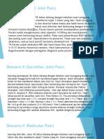 Skenario LBP (Facet joint, SI joint dan Raicular pain)