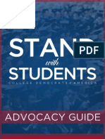 CDA Stand With Students Advocacy Guide