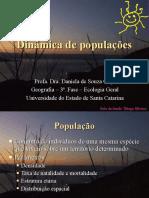 6 - Dinâmica de Populações