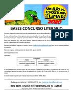 BASES CONCURSO LITERARIO