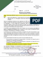 Instruction N° 08 Relative à la mise en place du certificat HANDOVER des puits Octobre 2017