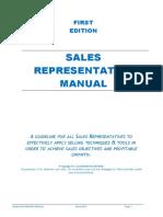 Sales Representative Manual Title Mergef