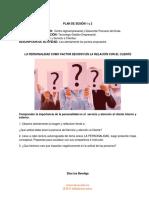 PLAN DE SESION 1 y 2 LA PERSONALIDAD (1)