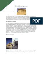Istoria Artei - Arhitectura Greceasca