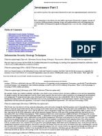 Information Security Governance Part I
