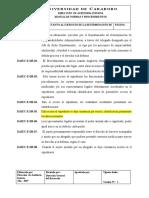 4.13 NORMAS ESPECIFICAS EJERCICIO DETERMINACIÓN DE RESPONSABLILIDADES OK