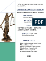 derecho penal INFORME