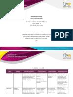 Formato -Tarea 1 - Matriz de análisis
