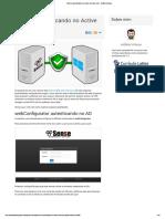 2- Segundo - Avançado - pfSense autenticando no Active Directory (AD)