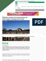 Científicos analizan 'El rescate histórico de Viejo Chagres y Santiago del Príncipe' _ Metro Libre