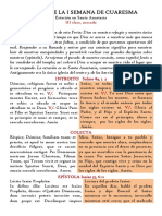 MARTES DE LA I SEMANA DE CUARESMA  /  Feria III post Dominicam I in Quadragesima