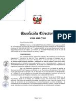 Directiva PLAN COVID TP-1