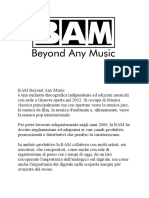 bam music distribuzione