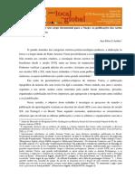 ARÊDES, Ana Elisa S. A construção de um corpo documental para a Nação. As publicações das cartas de Padre Antonio Vieira