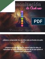 Armonización de Chakras Info General Sobre El Curso