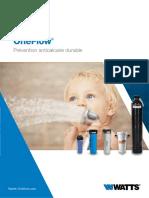 OneFlow, nouvelle technologie d'adoucisseur d'eau
