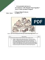 "Analisis lukisan ""The Bryuts Feast Together"" Tugas Seni Budaya I Wayan Julianta Pradnyana (17)"