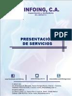 PRESENTACION DE SERVICIOS INFOING